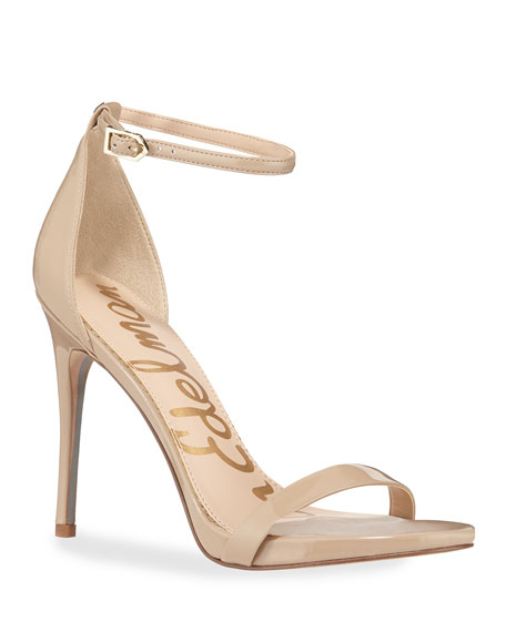 Image 1 of 4: Ariella Patent Strappy Sandals