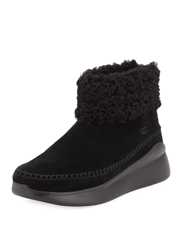 161f771316d Montrose Short Zip Wedge Boot Sneakers