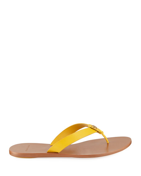 Tory Burch Manon Leather Thong Sandals