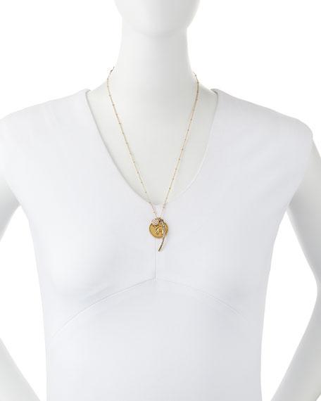Three-Pendant Talisman Necklace