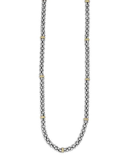 Image 1 of 3: Lagos Caviar-Rope Necklace