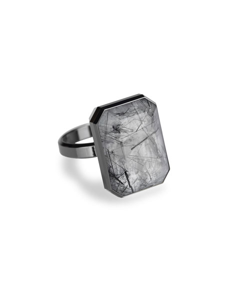 Ringly Limited Edition Dive Bar Quartz Smart Ring