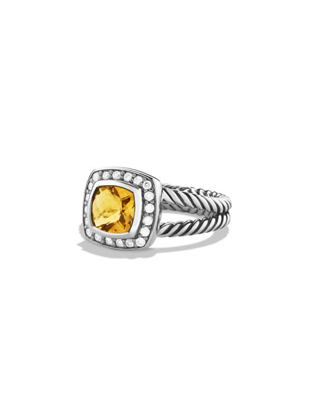 David Yurman Petite Albion Ring with Citrine and