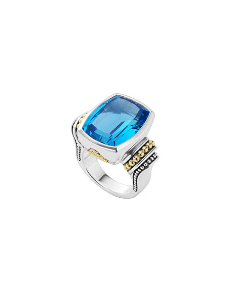 Caviar Color Ring, Size 7