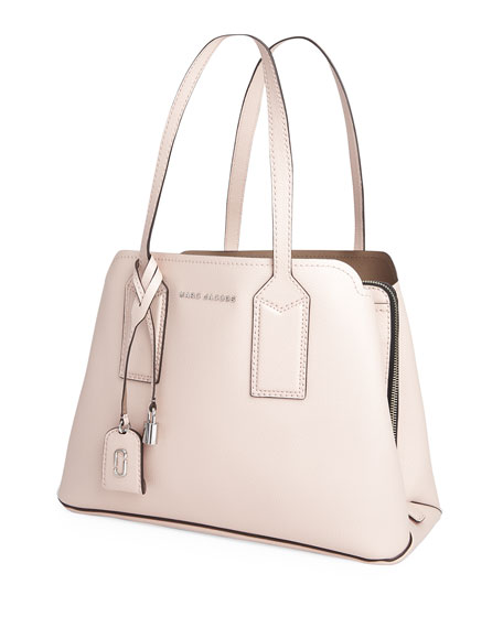 Image 4 of 4: The Marc Jacobs The Editor Large Pebbled Leather Tote Bag
