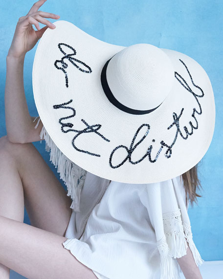 Eugenia Kim Floppy Sunhat With Embroidery Neiman Marcus 4355a121413