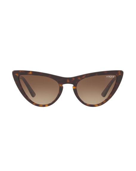 Vogue Eyewear Acetate Cat-Eye Sunglasses