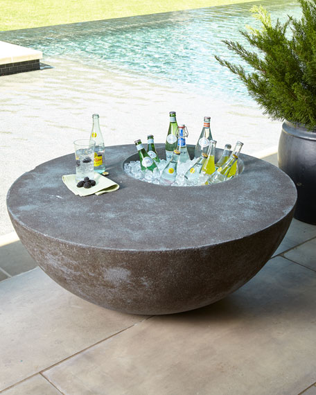 The Phillips Collection Outdoor Beverage Table
