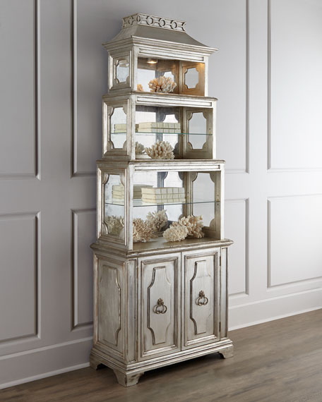 John-Richard Collection Pagoda Etagere