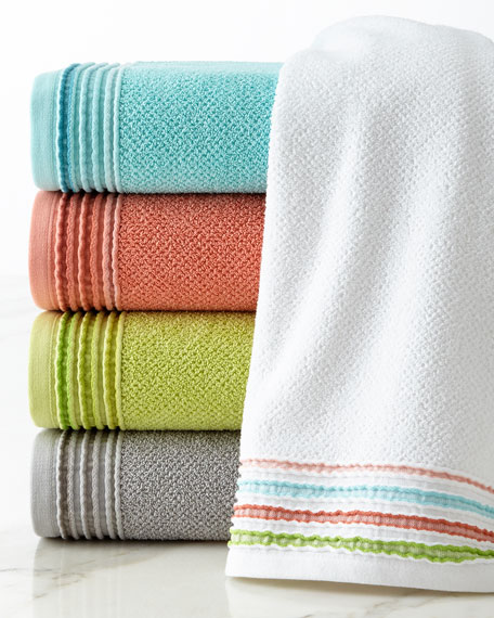 Dena Home Modern Solid Towels