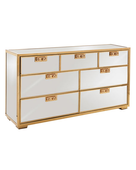 Continental Mirrored Dresser