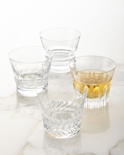 Dallas Assorted Double Old-Fashioneds  Set of 4