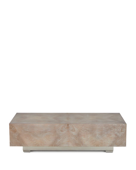 John-Richard Collection Manhattan Walnut Curl Coffee Table