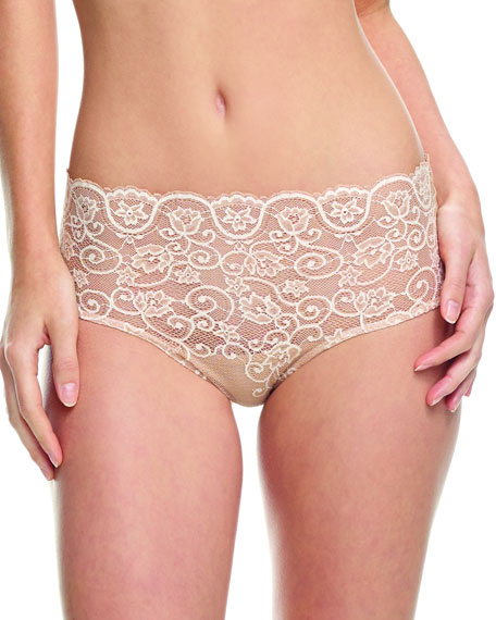 Commando Double Take Lace Bikini Briefs