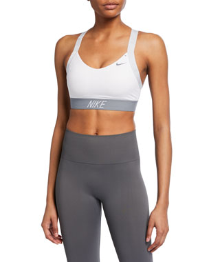 14f07c9ef Nike Indy Logo Light Support Performance Sports Bra