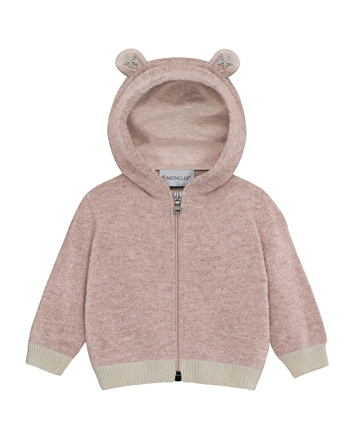 87beadcf3 Moncler Maglia Virgin Wool Hooded Cardigan