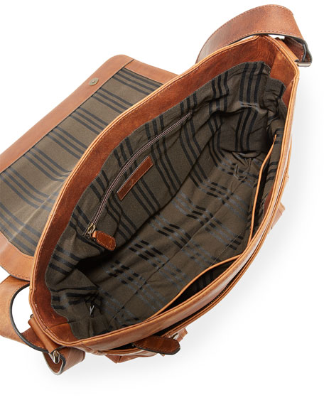 Image 2 of 3: Frye Logan Flap Messenger Bag