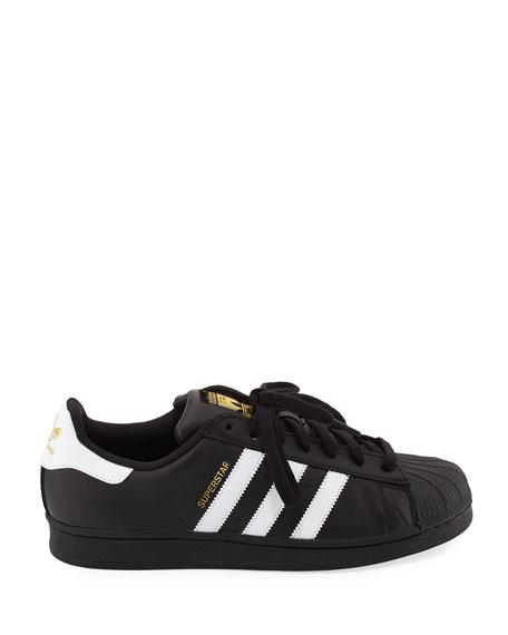 Men's Superstar Classic Sneakers, Black/White
