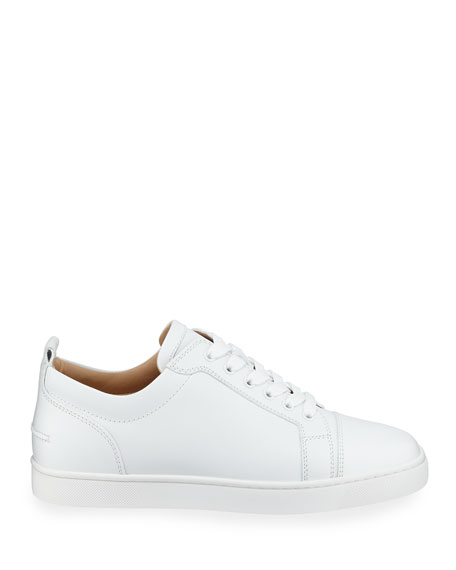 Christian Louboutin Men's Louis Junior Leather Red Sole Sneakers