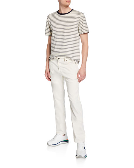 Image 3 of 3: AG Adriano Goldschmied Men's Tellis Modern Slim Sud Twill Pants