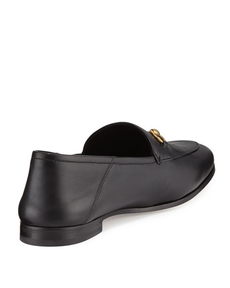Gucci 10mm Brixton Leather Loafer