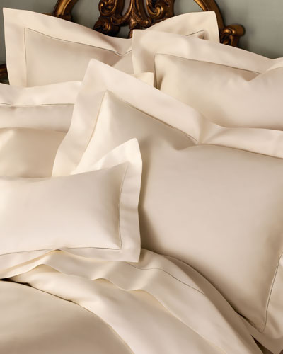 1 020-Thread-Count Solid Sateen Bedding
