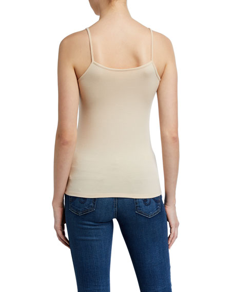 Image 2 of 2: Basic Scoop-Neck Cami