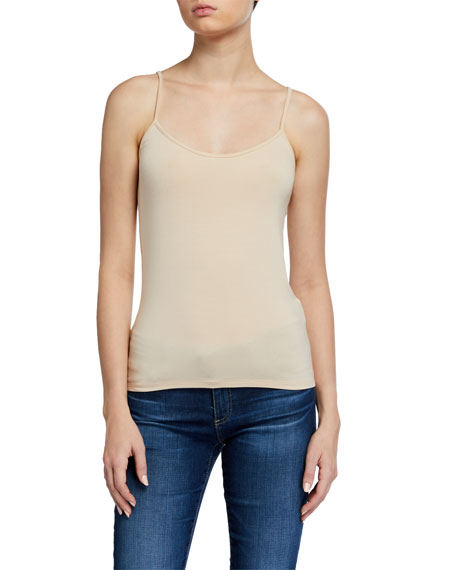 Image 1 of 2: Basic Scoop-Neck Cami