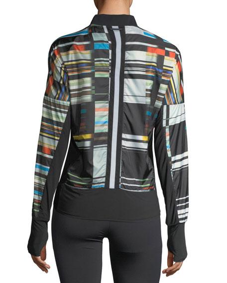 Featherweight Stripe-Print Jacket