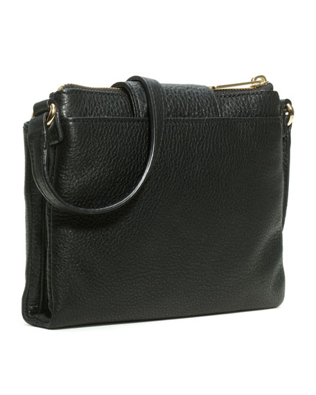 Fulton Large Crossbody Bag, Black