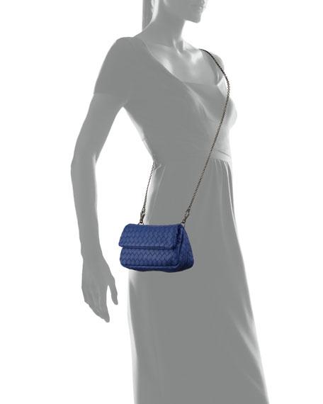 Intrecciato Small Chain Crossbody Bag