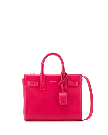 Saint Laurent Sac de Jour Nano Satchel Bag,