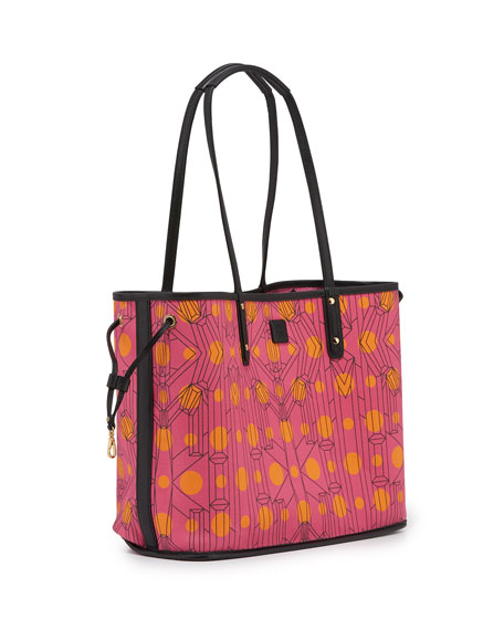 Shopper Project Visetos Reversible Tote Bag