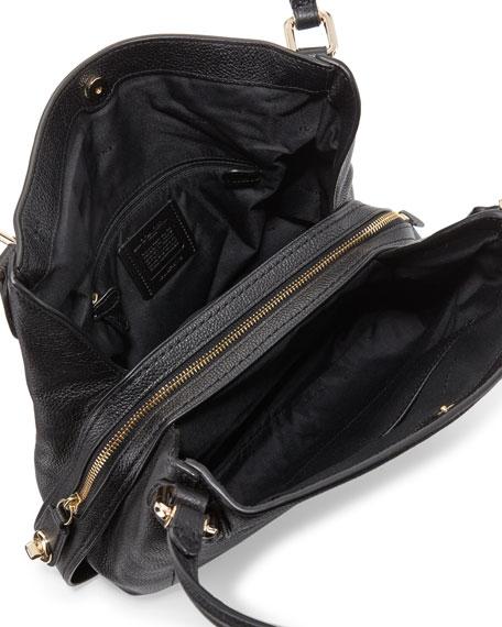 Edie 31 Leather Shoulder Bag