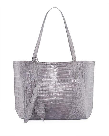 3e2c16c2f35e Nancy Gonzalez Erica Small New Python Leaf Tote Bag