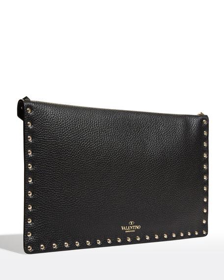Rockstud Large Envelope Clutch Bag