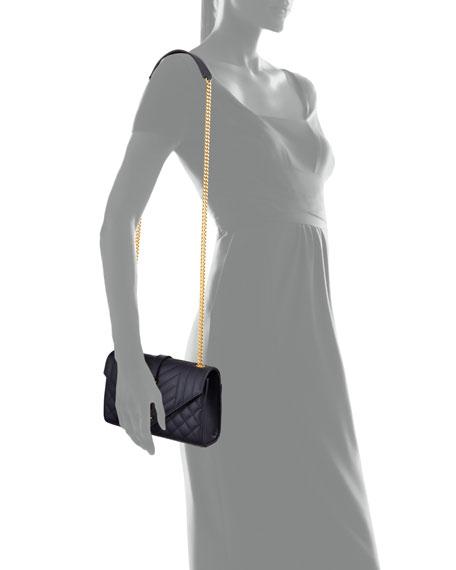 Saint Laurent Monogram YSL Envelope Small Chain Shoulder Bag - Golden Hardware