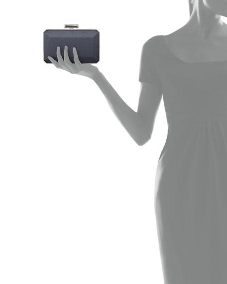 Judith Leiber Couture Soho Satin Clutch Bag