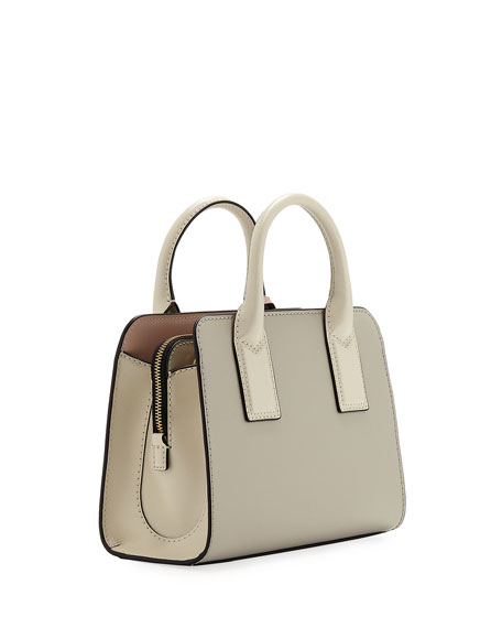 Marc Jacobs Little Big Shot Saffiano Leather Tote Bag