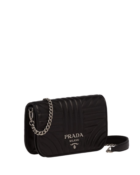 Prada Small Diagramme Crossbody Bag