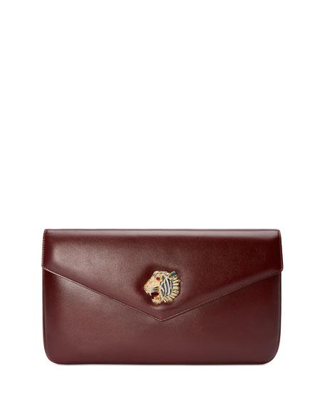 Gucci Clutch Leather Envelope Clutch Bag