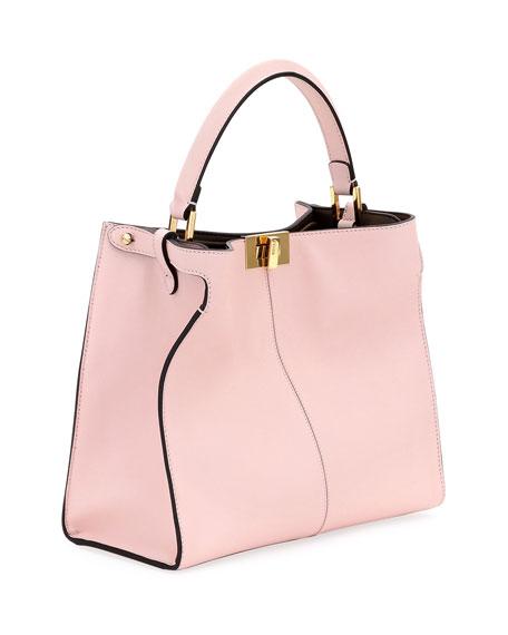 Fendi Peekaboo Xlite Mini Tote Bag