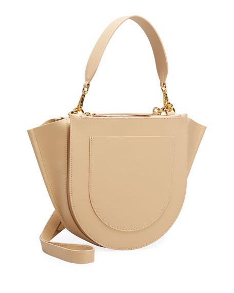 Wandler Hortensia Medium Calf Top-Handle Bag