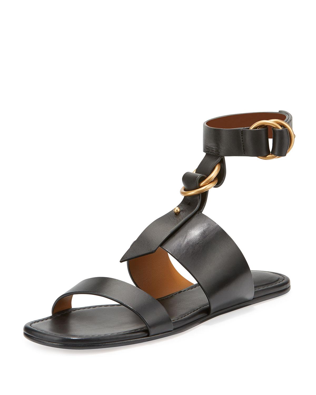 c1e3a6f97f4 Chloe Kingsley T-Strap Flat Sandal