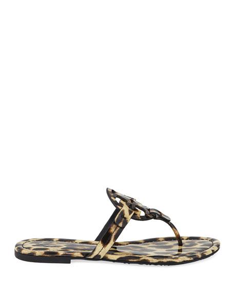 Miller Printed Flat Thong Sandals