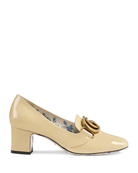 Gucci Victoire 55mm Patent Leather Loafer