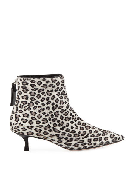 Juniper Leopard Ankle Booties