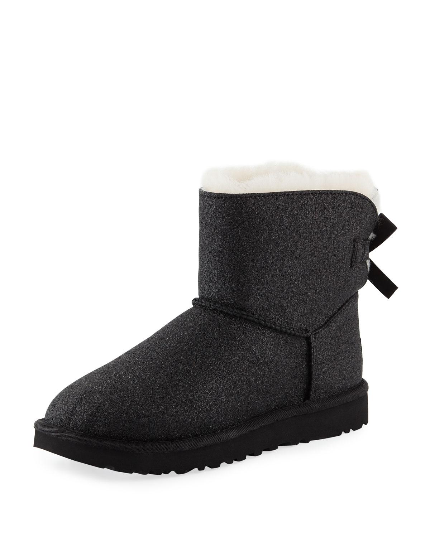 507bcebccabe6 UGG Mini Bailey Bow Sparkle Boots