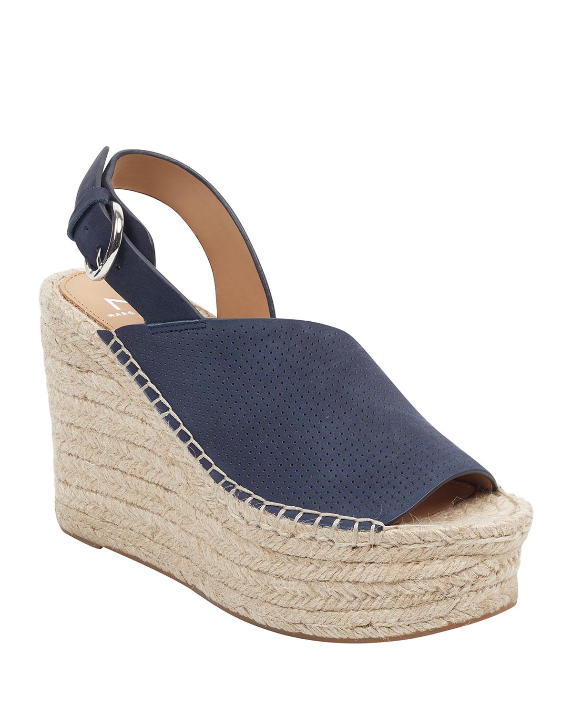 Andela Wedge Platform Sandals Marc Fisher Wedge Heels Shoes