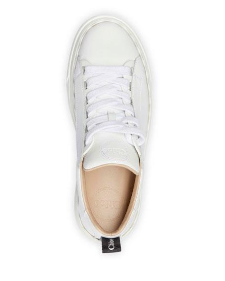 Chloe Lauren Low-Top Leather Sneakers